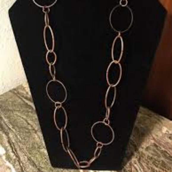paparazzi jewelry perfect mismatch copper necklace